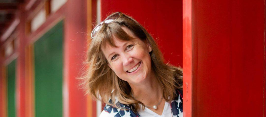 Christine Kronshage in Singapur