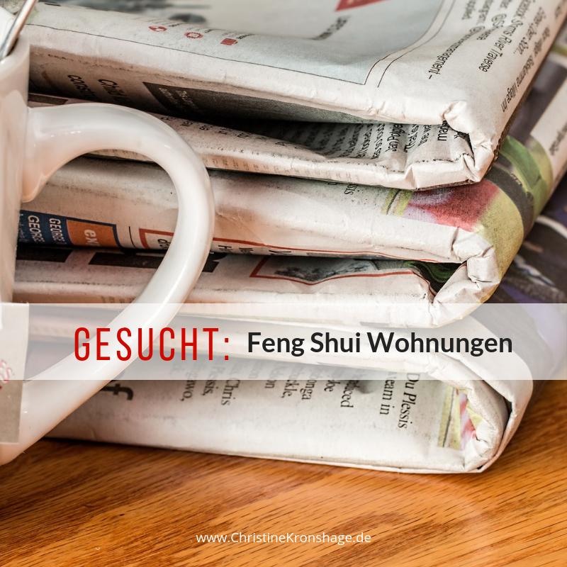 Gesucht: Feng Shui Wohnungen