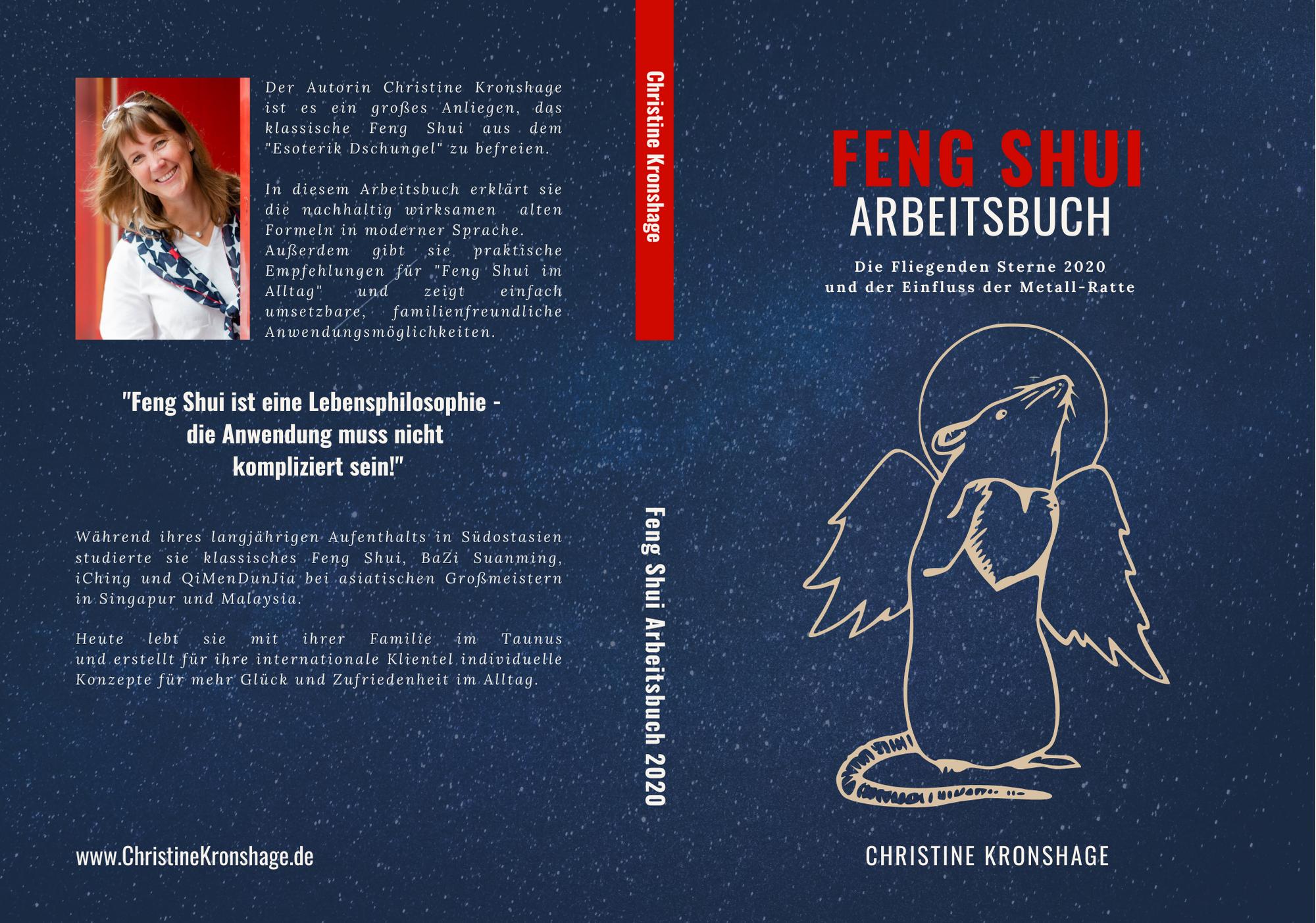 Feng Shui Arbeitsbuch 2020 von Christine Kronshage