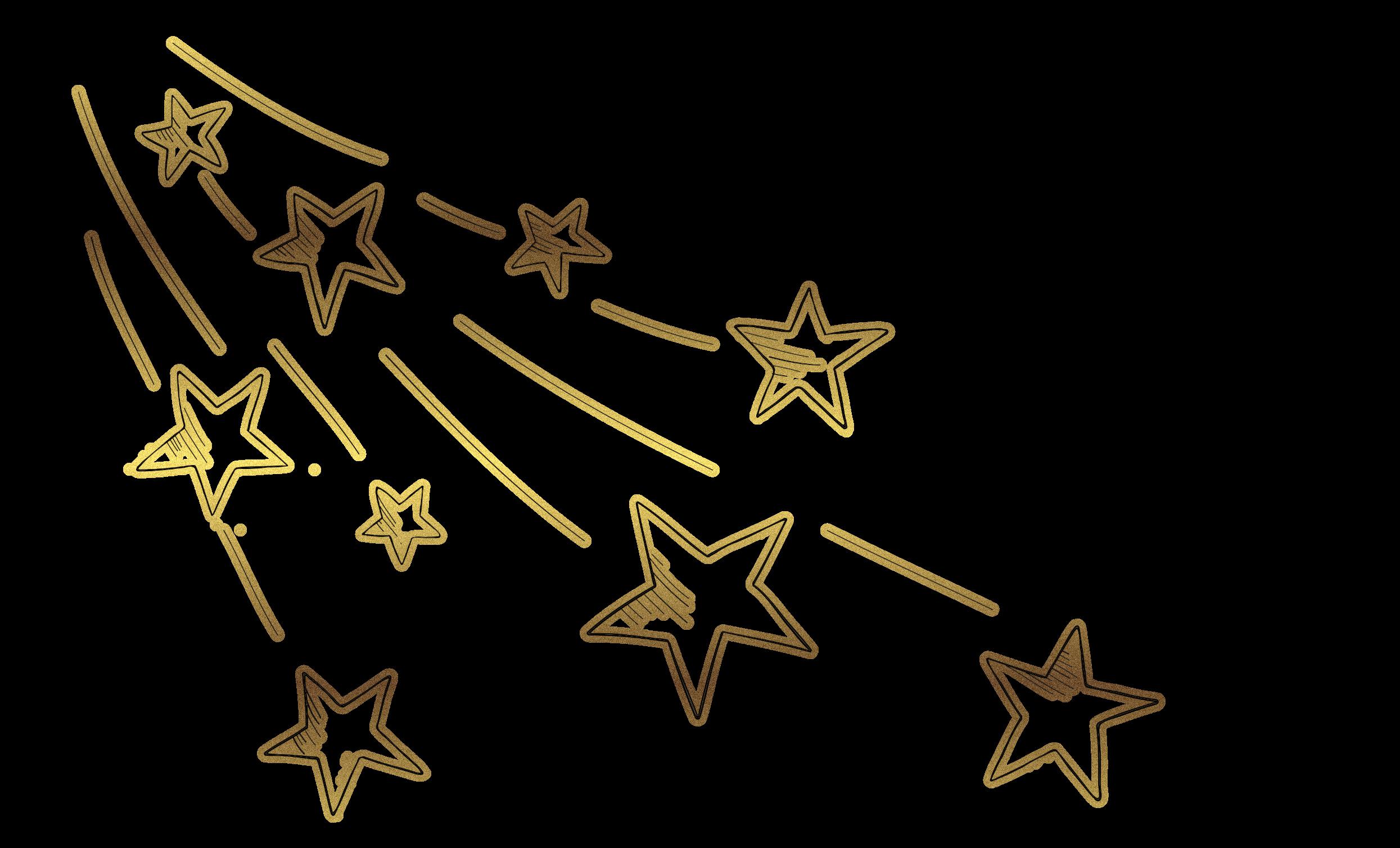 Fliegende Sterne