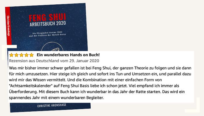 Rezension 3 Feng Shui Arbeitsbuch