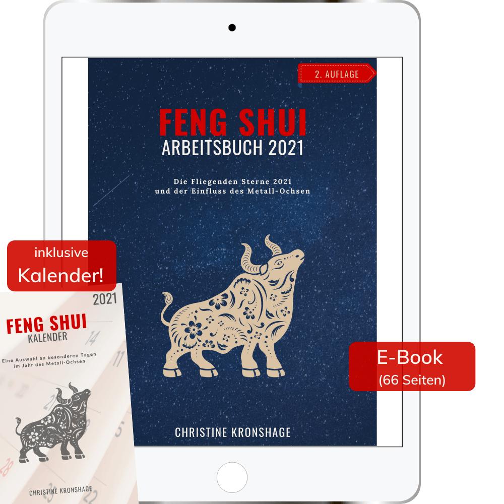 Feng Shui Arbeitsbuch 2021